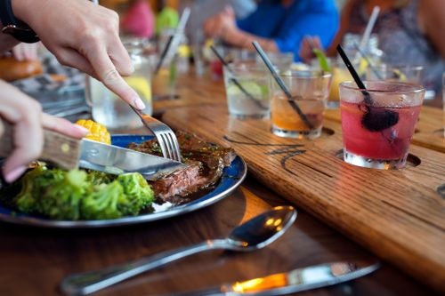 picture of Campfire Grill Steak and Virginia Cocktails| Taste of Blue Ridge