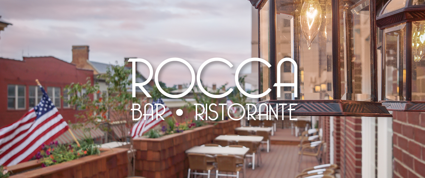 Balcony at the Ricco Bar Ristorante